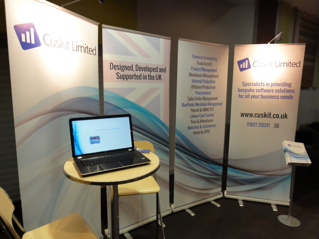 Cuskit Limited Exhibition Stand